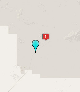 Map of Fort Irwin lodging