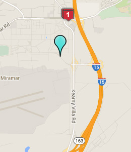 Map Of Hotels Near Mcas Miramar