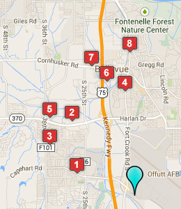 Hotels near Offutt AFB - See Military Discounts on map of all army bases, map of national guard bases, map of hill air force, map of robins air base, map of military bases, map of army bases in the united states, map of us bases, map of selfridge air base, map of air force academy colorado springs, map of coast guard air stations, map of tachikawa air base, map of manufacturing plants, map of american bases, map united states air force, map of air force installations, map of power stations, strategic air command bases, map of pacaf, argentina military bases, map of usaf installations,